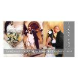 SILVER UNION | WEDDING THANK YOU CARD