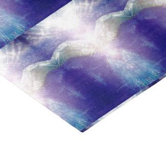 Silver Violet Angel tissue paper