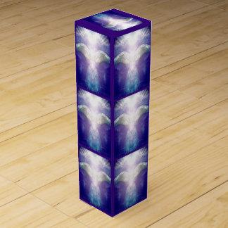 Silver Violet Angel wine box