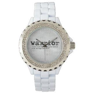 Silver Warrior Definition Watch