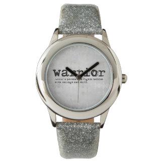 Silver Warrior Definition Wristwatches