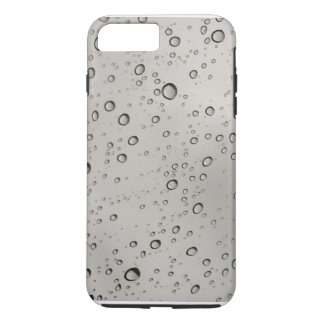 Silver Water drops iPhone 7 PLUS case