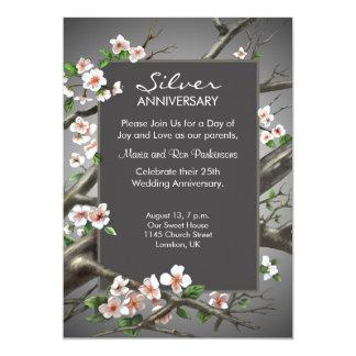 Silver Wedding Anniversary - 25th years Card