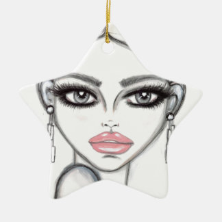 Silver - Wendy Buiter Ceramic Star Ornament