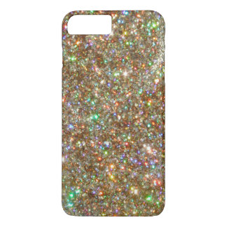 Silver White Gold Diamond Jewel iPhone 7 PLUS CASE