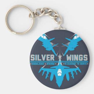 Silver Wings Key Chain