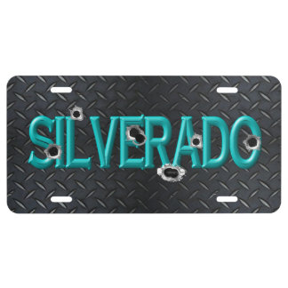 Silverado Truck Tag - Shot! License Plate