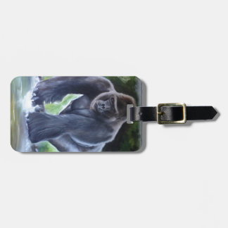 Silverback Gorilla Bag Tag