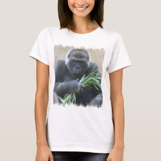 Silverback Gorilla Ladies T-Shirt