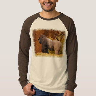Silverback Gorilla Photo Long Sleeve T-Shirt