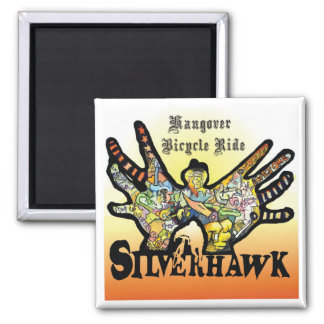 Silverhawk_Hangover Bicycle Ride Magnet