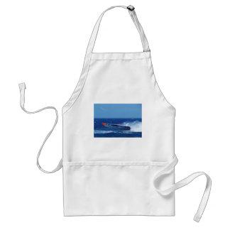 Silverline sponsored powerboat. standard apron
