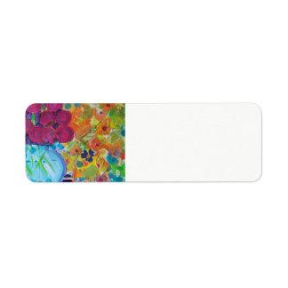 Silvermine Collage Address Label