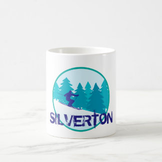 Silverton Basin Ski Circle Coffee Mug