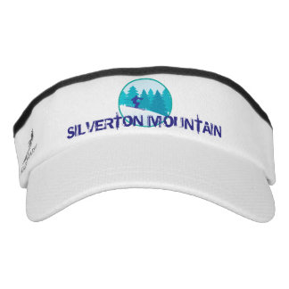 Silverton Mountain Teal Ski Circle Visor