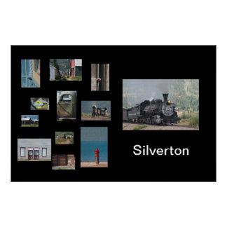 Silverton Photo Collage Travel Poster Template