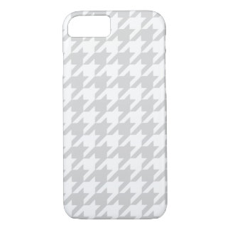 Silvery Houndstooth 1 iPhone 7 Case