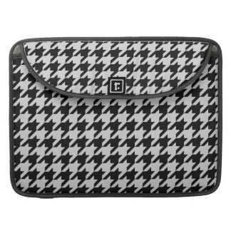 Silvery Houndstooth 2 MacBook Pro Sleeve