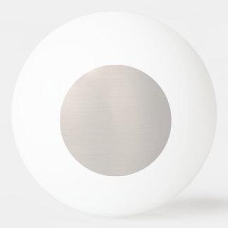Silvery Metallic Ping Pong Ball