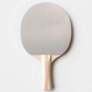 Silvery Metallic Ping Pong Paddle