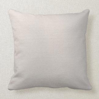 Silvery Metallic Throw Pillow