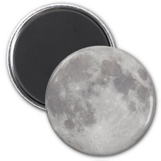 Silvery Moon magnet