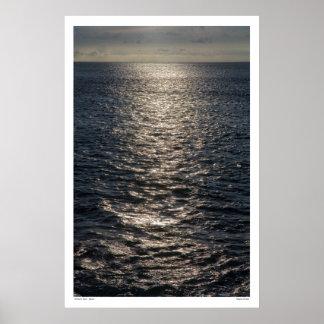 Silvery Sea - Maui Posters