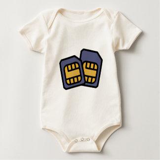 SIM cards Baby Bodysuit