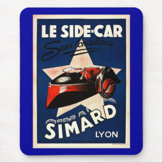 Simard - Le Side Car Mouse Pad