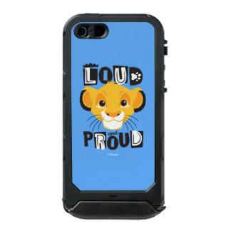 Simba | Loud And Proud Incipio ATLAS ID™ iPhone 5 Case