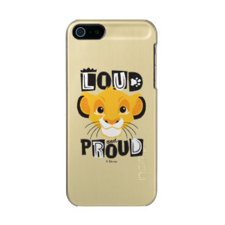 Simba | Loud And Proud Incipio Feather® Shine iPhone 5 Case