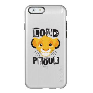 Simba | Loud And Proud Incipio Feather® Shine iPhone 6 Case