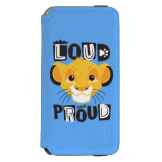 Simba | Loud And Proud Incipio Watson™ iPhone 6 Wallet Case