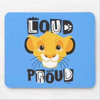Simba | Loud And Proud Mouse Pad
