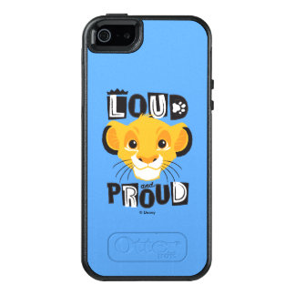 Simba | Loud And Proud OtterBox iPhone 5/5s/SE Case