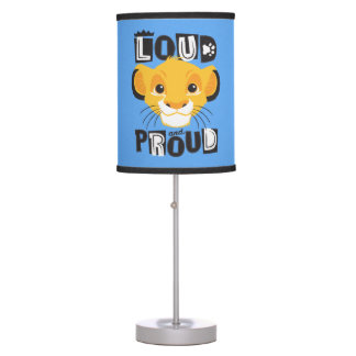 Simba | Loud And Proud Table Lamps