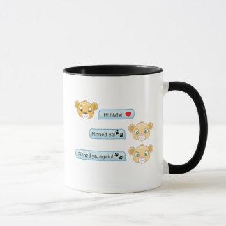Simba Nala Conversation Mug