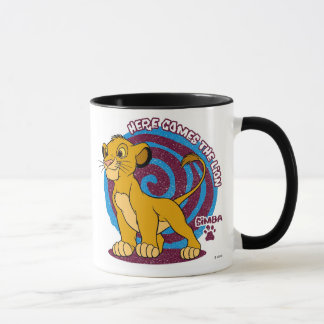 Simba Stands Proud Disney Mug