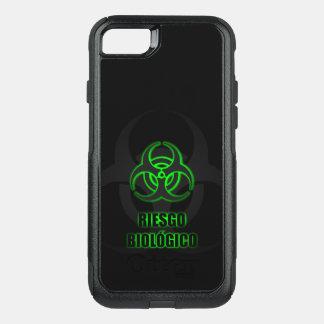 Símbolo Verde Brillante de Riesgo Biológico OtterBox Commuter iPhone 8/7 Case