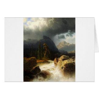 Simeon Marcus Larson, ( 1825 –  1864), Seascape 10 Card