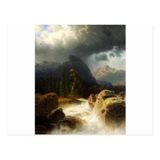 Simeon Marcus Larson, ( 1825 –  1864), Seascape 10 Postcard