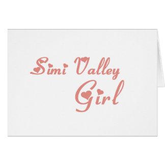 Simi Valley Girl tee shirts Card
