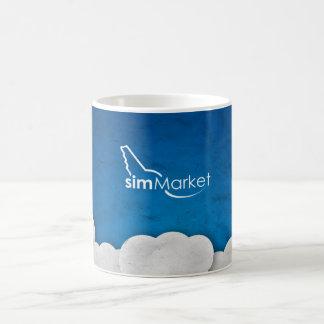 simMarket Paper Sky 3 Coffee Mug