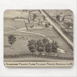 Simmon's Prairie Farm, Kenosha Water Cure Mouse Pad
