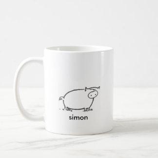 Simon - 15 oz coffee mug