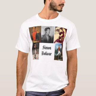 Simon Bolivar, Simon Bolivar, Simon Bolivar, Si... T-Shirt
