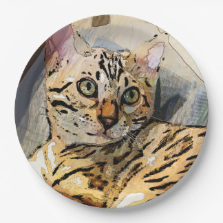 SIMON IN LIGHT 9 INCH PAPER PLATE