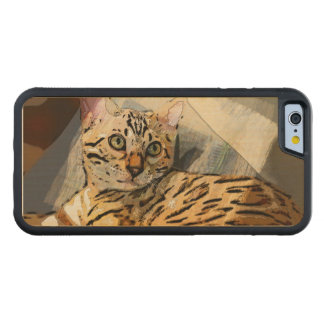 SIMON IN LIGHT CARVED MAPLE iPhone 6 BUMPER CASE