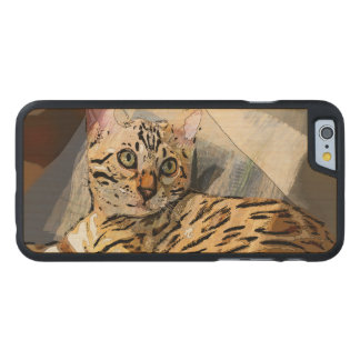 SIMON IN LIGHT CARVED MAPLE iPhone 6 CASE