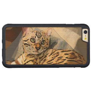 SIMON IN LIGHT CARVED® MAPLE iPhone 6 PLUS BUMPER CASE